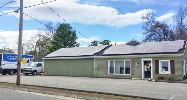 Saco Food Pantry Solar Panels